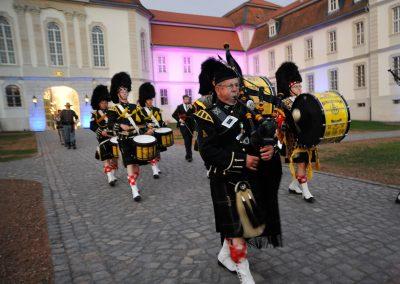 Targe of Gordon 1997 e.V. Fulda - Gordons on Parade 2015 Einmarsch zum Finale