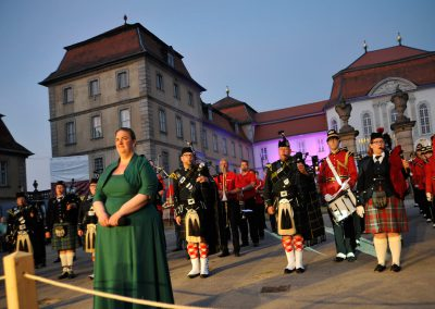 Targe of Gordon 1997 e.V. Fulda - Gordons on Parade Finale mit Ute Krönung